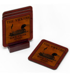 Customized wine coaster set