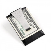 Money clip and wallet