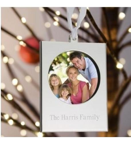 Silver Frame Ornament