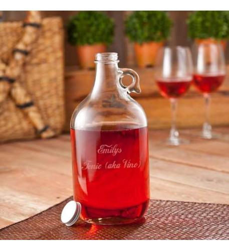 Wine Jug Set (2 Wine Glasses-64oz )