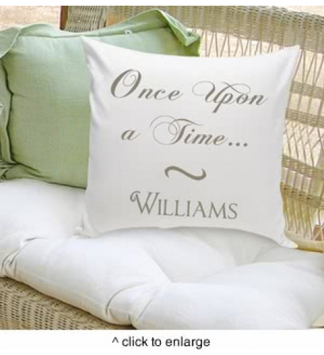 Once Upon A Time Classic Throw Pillow