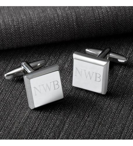 Modern Square Cufflinks