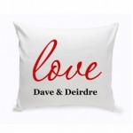 Couples Unity Throw Pillow